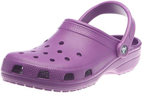 crocs Clsc AKA Cay Dahlia M4/W6 10001-511, Unisex - Erwachsene Clogs & Pantoletten, Violett (Dahlia 511), EU 42/43(M9/W11)