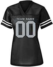 Womens Custom Football Replica Team Jersey