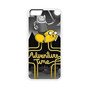 Adventure Time Cartoon Productive Back Phone Case For Apple Iphone 6 Plus 5.5 inch screen Cases -Pattern-18
