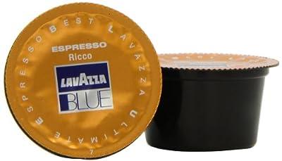 Lavazza Blue Espresso Ricco, 28.2-Ounce Boxes (Pack of 100)
