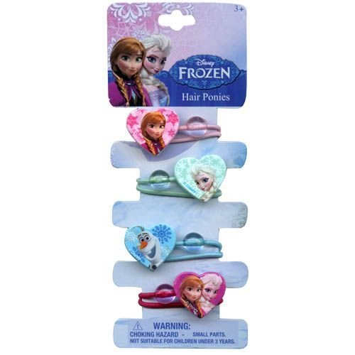 Disney Frozen 4 Hair (Frozen Hair Accessories)