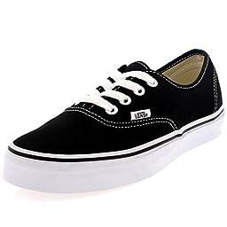 Vans Unisex Skate Shoe (36 M EU / 4.5 D(M) US, Black) (Black, 9.5 D(M) US)