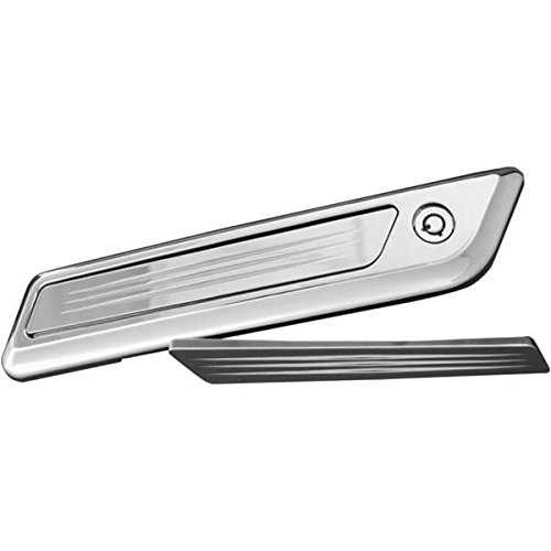 - Accutronix Chrome Diamond Saddlebag Latch Inserts BLI14-IC