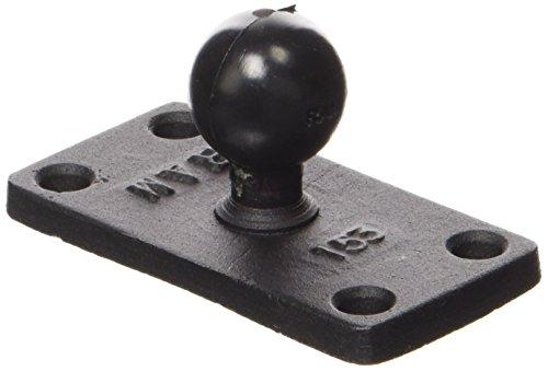 RAM-B-202U-153 1.5 X 3 Rectangle Base with 1 Ball RAM MOUNTS