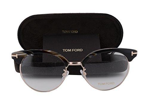 Tom Ford FT5343 Eyeglasses 51-19-145 Black Horn 063 FT - Ford Clearance Tom