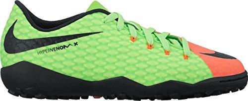 Nike Junior Hypervenom X Phelon III Turf Soccer Shoes (3 Little Kid M) (Kids Soccer Shoes Nike Hypervenom)