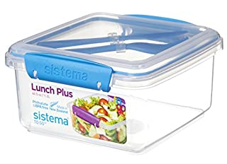 Sistema 21652 Klip It Lunch Plus to Go Container (B009DZTEDM) | Amazon price tracker / tracking, Amazon price history charts, Amazon price watches, Amazon price drop alerts