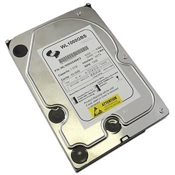 "White Label 1TB 64MB Cache 7200RPM SATA2 (3.0Gb/s) 3.5"" Desktop Hard Drive (For PC,Mac,CCTV DVR,Server,NAS)- w/ 1 Year Warranty"
