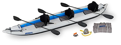 Sea Eagle 465FTK FastTrack Inflatable Kayak with Pro Carbon Package