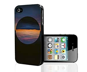 Cool Morning Sunrise Art Hard Snap on Phone Case (iPhone 4/4s)