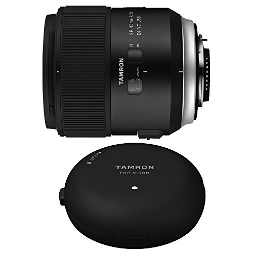 Tamron SP 45mm f/1.8 Di VC USD Lens and TAP-In-Console for C