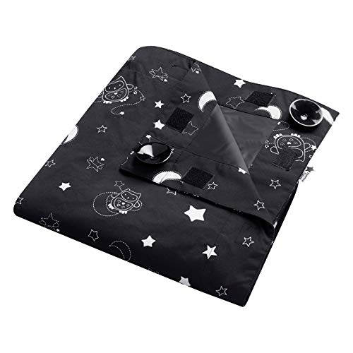 Tommee Tippee Sleeptime Portable Baby Travel Blackout Blind, Large, Black (591074)