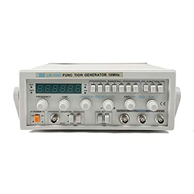 Signal Generator, LW-1643 Wave Digital 0.1Hz-2MHz Frequency Function Signal Generator AC 220V for Lab