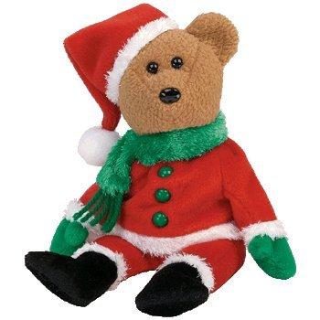 Amazon.com  Ty Beanie Babies Kringle - Bear  Toys   Games f3a5f2fd5a6