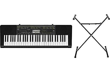 Casio CTK-2200 Tamaño completo teclado con el soporte.: Amazon.es: Juguetes y juegos