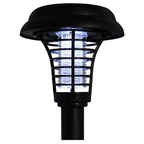 Lioder Solar Outdoor Mosquito Repellent Garden Lamp Ground Insecticidal Lamp Floor Lamps 138mm x 138mm x 420mm