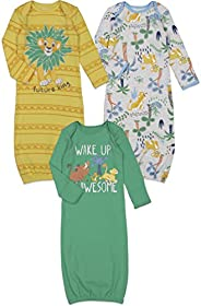 Disney The Lion King Simba 3 Pack Swaddle Sleeper Gown Multicolored