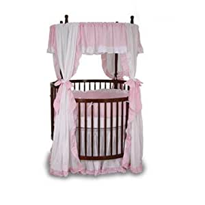 Angel Line Round Crib Bedding