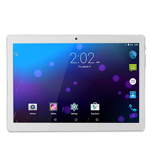 Android Tablet 10 Inch, Phablet Unlocked 3G [Android 8.1 Go] [GMS Certified] 10 Inch Tablet with Dual Sim Card Slots and…