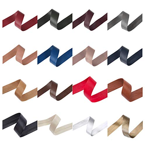 Neotrims 10mm and 20mm PU Faux Imitation Leather Tape Trimming Ribbon Coach Pram Strap Strip. 3.8 Meters, 7.5m & 19mts (1 Reel) Lengths. 17 Colours Options Red, Black, Gold, Brown, Silver, Purple etc ()