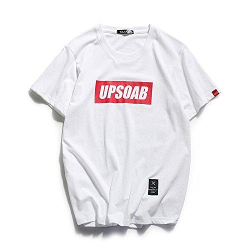 胃感性のどTシャツ 半袖 メンズ レディース クルーネック トップス ユニセックス ストリート系 カジュアル ゆったり シャツ ボックスロゴ