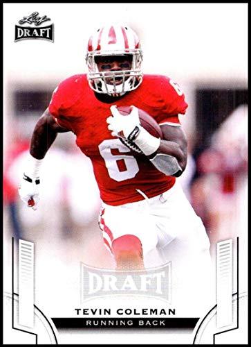2015 Leaf Draft #54 Tevin Coleman NM-MT Indiana Hoosiers Football Trading Card