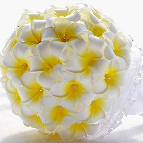 Rhinestone-Shinning-Satin-Ribbon-Plumeria-Frangipani-Wedding-Bouquet-Bridal-Bouquets-Wedding-DecorationYellow