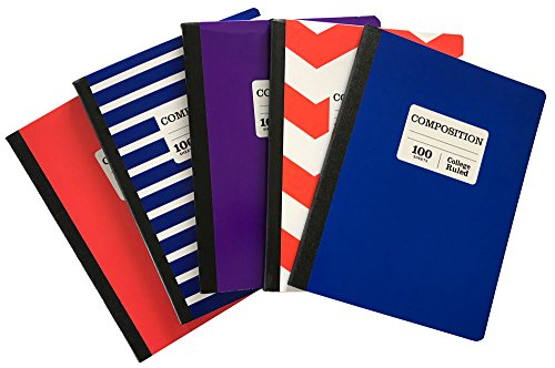 College Rule Composition Book - 6