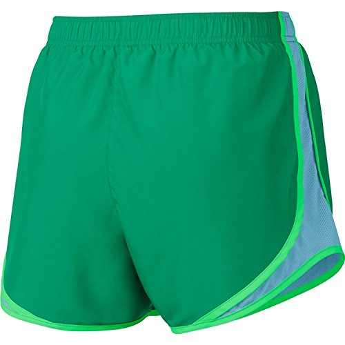 official photos 59b79 5093e ... Damen Nike Dry Tempo Running Short Stadion-Grün   klarer Himmel   Wolf  Grey