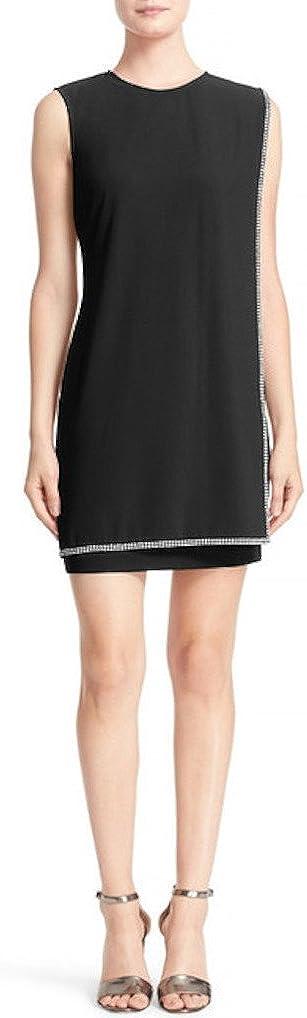Ted Baker Burford Double Layer Embellished Short Dress Black