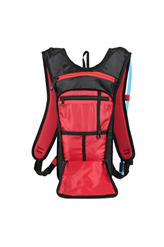 Black Trinkrucksack Zefal Hydro L Red Light Z qAgzX