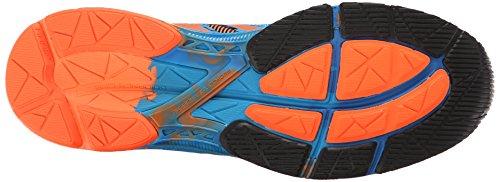 Scarpe da corsa da uomo Gel-Noosa Tri 10, arancio caldo / arancio caldo / blu elettrico, 14 M US