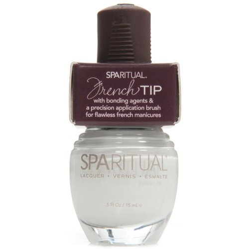 SPARITUAL Nail Lacquer Airy Sopranos French Tip .5 oz.