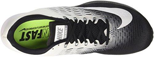 Nike Dame Air Zoom Elite 9 Løbesko Sort / Hvid-cool Grå OUrnRtibd