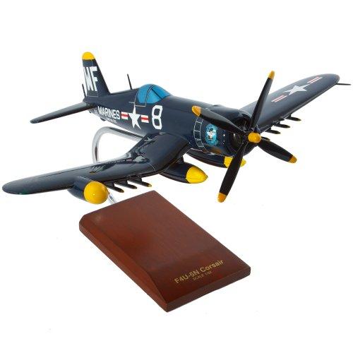 Mastercraft Collection Vought F4U-5NL Nite Corsair Winterized World War II Fighter Airplane Plane USN Navy Model Scale:1/32