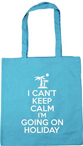 42cm holiday HippoWarehouse Blue can't litres Gym Bag I x38cm going Surf i'm Tote Beach keep on 10 Shopping calm O5O1UWa0r