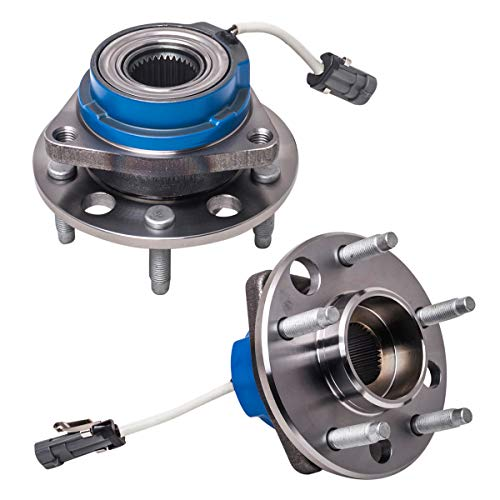 - Front Rear Wheel Hub and Bearing Assembly Left or Right Compatible Buick Allure Century LaCrosse LeSabre Park Avenue Olds Aurora Pontiac Bonnevile Chevy Impala AUQDD 513121 x2(Pair) [ 5 Lug W/ABS ]