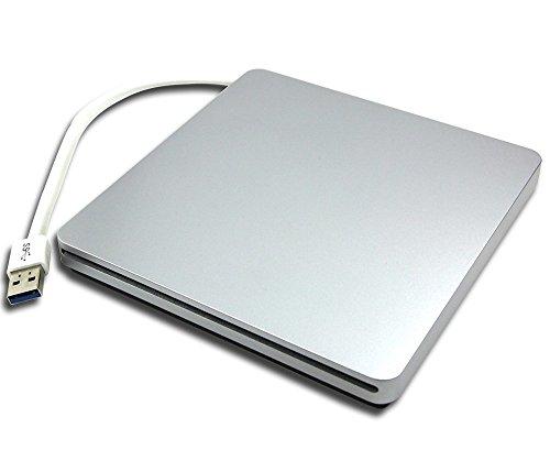 SuperDrive for Apple MacBooK Retina 2016 MLHA2LL/A A1534 12-Inch Laptop 6X 3D BD-ROM Combo Player 8X DVD RW DL Burner External Drive + + USB-C to USB3.0 Adapter ()