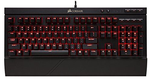 Corsair K68 Mechanical Gaming Keyboard Cherry MX Red (Renewed)