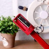 cortador de l/ápices de carpinter/ía Sacapuntas de carpintero para carpinter/ía herramientas de mano para carpinter/ía azul Supertool herramienta de afilado estrecha