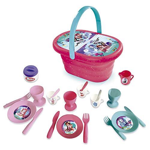 Cesta picnic de Enchantimals con 21 accesorios (Smoby 310553)