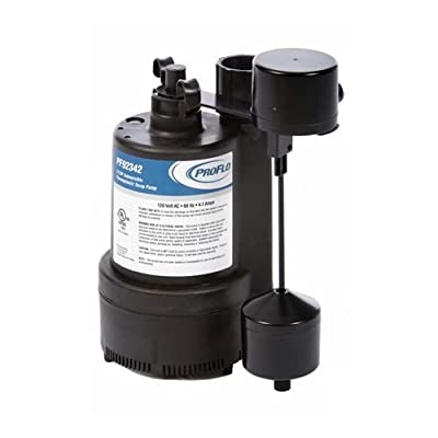 PROFLO PF92342 1/3 HP Thermoplastic Automatic Sump Pump,