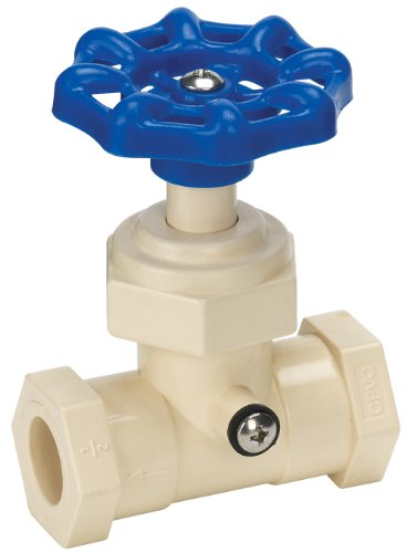 Homewerks VSW-CPV-E3B Stop and Waste Valve, Solvent x Solvent, CPVC, 1/2-Inch
