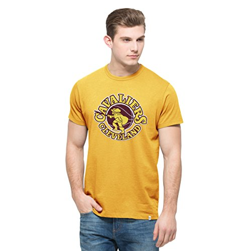 NBA Cleveland Cavaliers Men's '47 Knockout Tee, Medium, Galley Gold