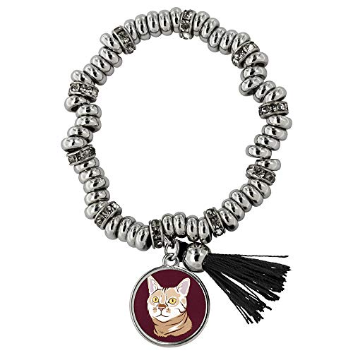 Bengal Cat Jewelry Bracelet for Women Girls (Piper), Funny Cat Gifts 9187