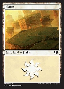 Magic: the Gathering - Plains (318) - Commander 2014