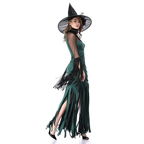 Traje Bruja Fiesta Mascarada Carnaval Vestido Halloween Disfraces Sexy Nfy Mujer Miedo UF6qqY