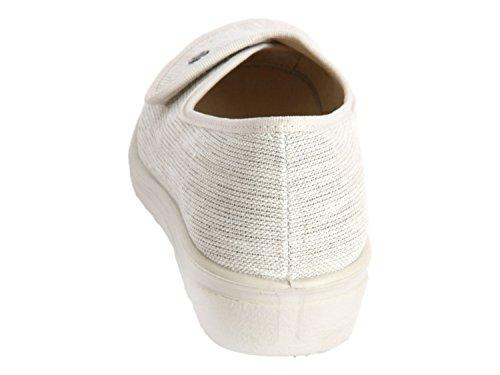 Romika Romisana 104 Natur Textil - 7004474201 Vit