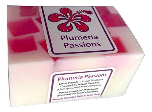 Maui Organics Hawaiian Bath and Body Confetti Soap (Plumeria Passions) (Hawaiian Essence)