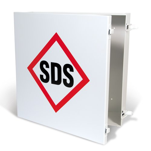 GHS/HazCom 2012: Metal SDS Storage Case
